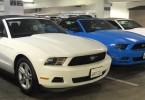 Mustang de location USA