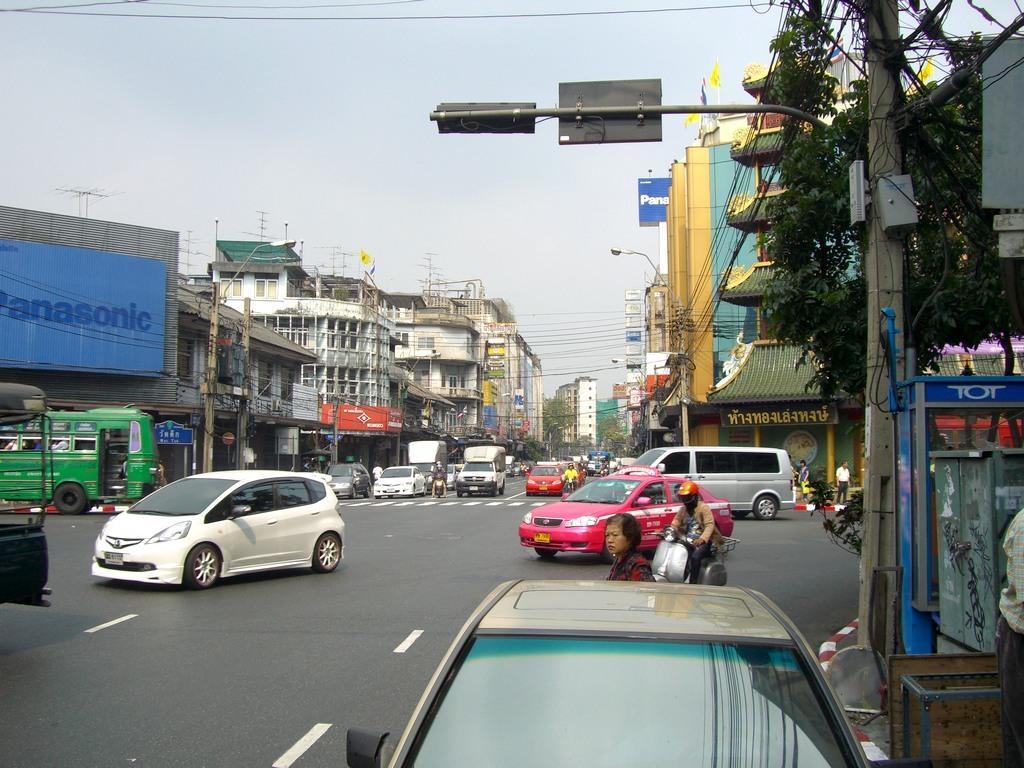 Une rue à Bangkok (2009)