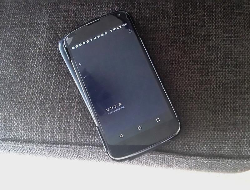 uber smartphones