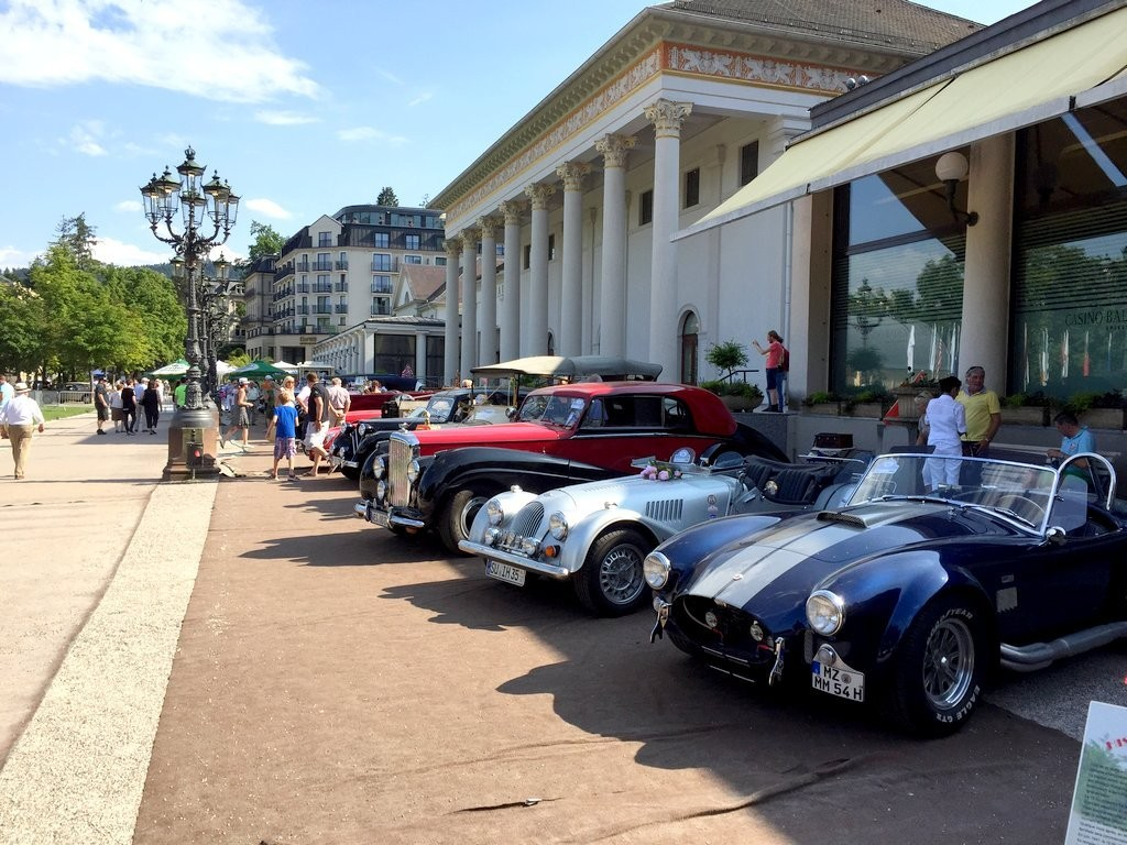 39e meeting Oldtimer de Baden Baden - juillet 2015 - voitures anciennes et de collections et concours d'élégance