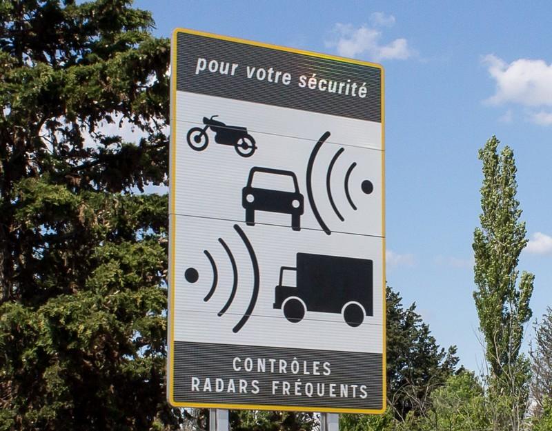 panneau radar