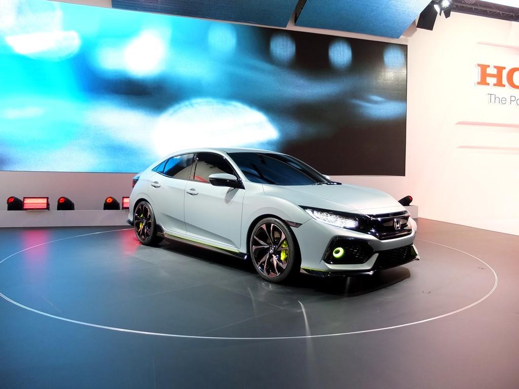 Honda Civic Hatchback concept (salon de geneve 2016)