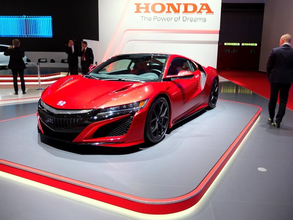 Honda NSX (salon de geneve 2016)