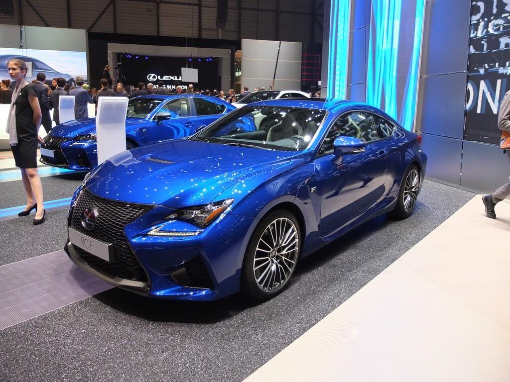 Lexus RC-F (salon de geneve 2016)