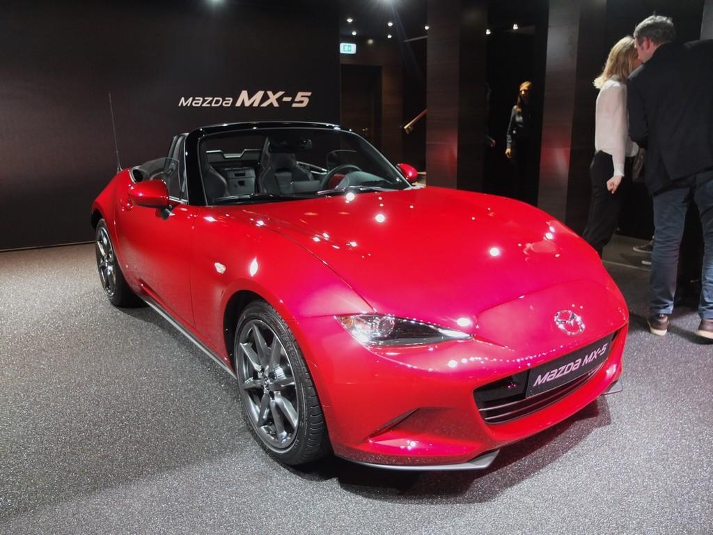 Mazda MX-5 (salon de geneve 2016)