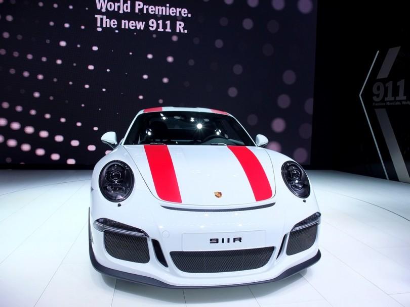 Porsche 911R (salon de geneve 2016)