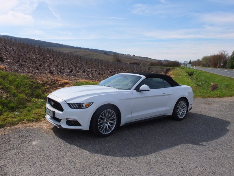 2017 Ford Mustang Convertible >> Ford Mustang : une voiture à fort capital sympathie | Miss 280ch