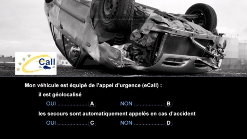 nouveau examen du code de la route