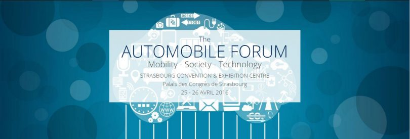 The Automobile Forum Strasbourg 2016