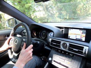 Lexus IS - intérieur