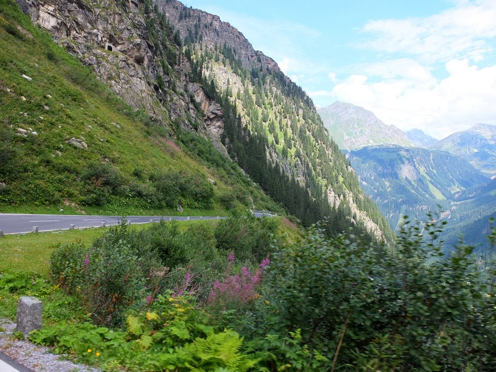 route Silvretta-Hochalpenstrasse