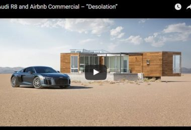 audi r8 & airbnb commercial