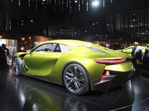 Concept car DS E-Tense - mondial auto paris 2016