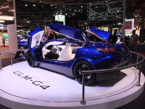 Concept car GLM-G4 - mondial auto paris 2016