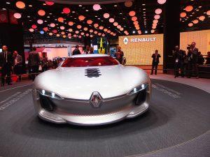 Concept car Renault Trezor - mondial auto paris 2016