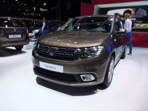 Stand Dacia - Mondial automobile paris 2016