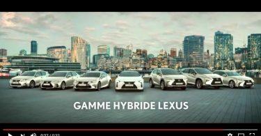 Publicité hybride Lexus - rentrée 2016