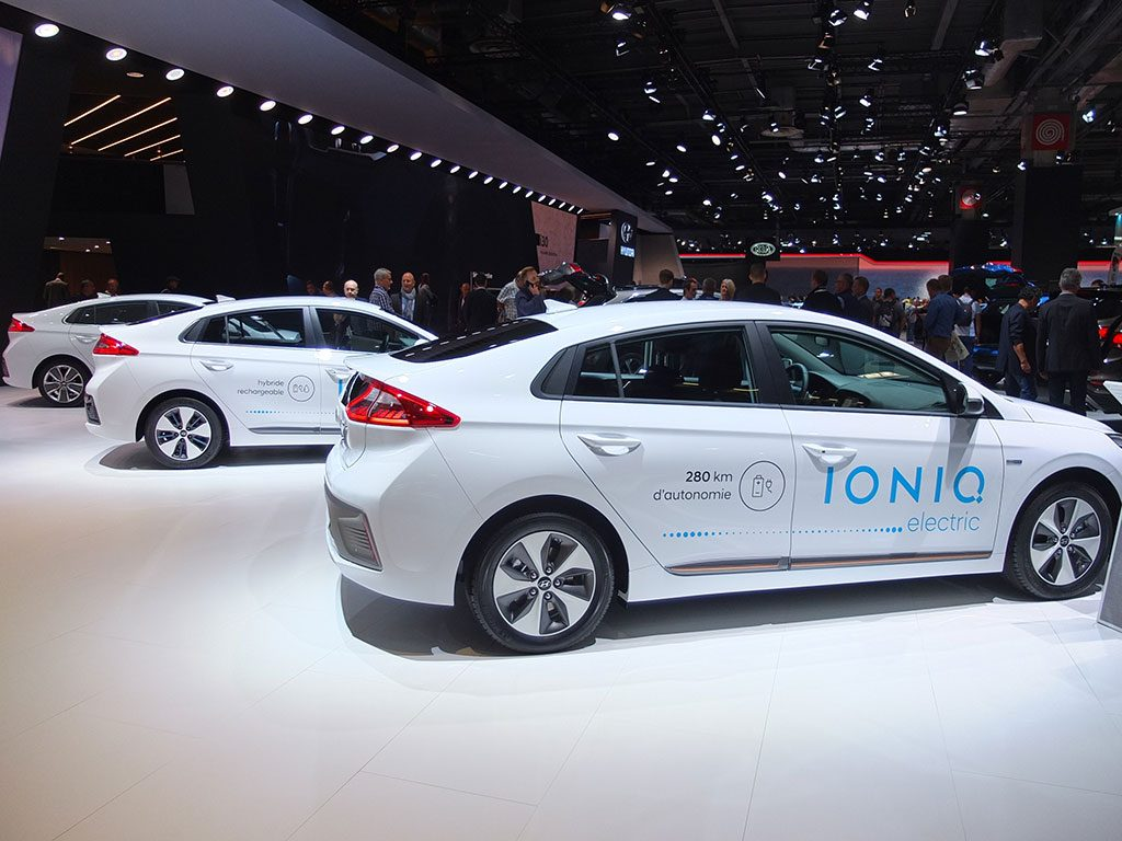 hyundai ioniq - mondial automobile paris 2016