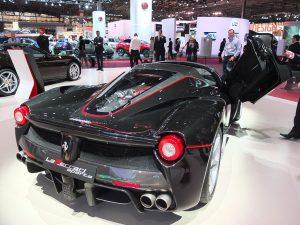 Ferrari LaFerrari Aperta - Mondial automobile Paris 2016