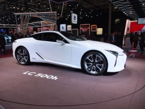 Lexus LC500h - mondial automobile paris 2016