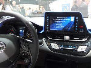Toyota C-HR intérieur