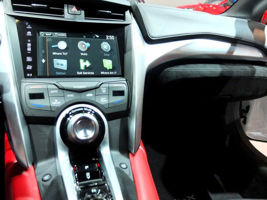 Honda NSX intérieur