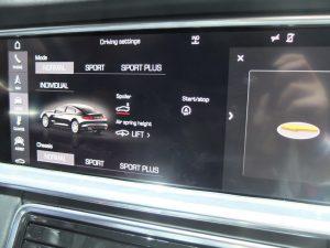 Porsche panamera - système embarqué