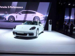 porsche panamera hybride - mondial automobile paris 2016