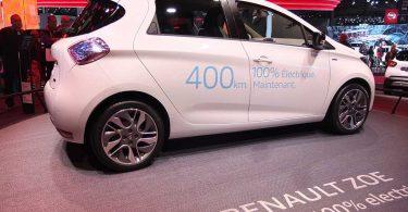 renault zoe ze 40 - mondial automobile paris 2016