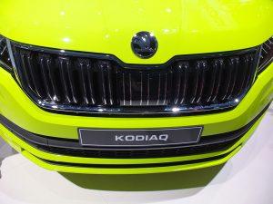 Skoda Kodiaq fluo - mondial auto paris 2016