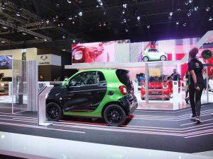 Smart Fortwo ED - mondial automobile paris 2016