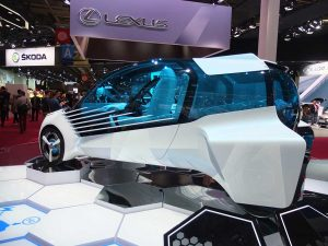 toyota fcv plus - mondial automobile paris