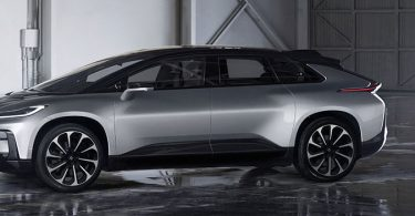Faraday Future FF 91 exterieur
