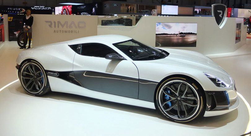 rimac concept_one - geneva motorshow 2017
