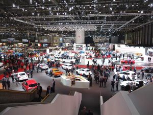 vue stand nissan - geneve 2017