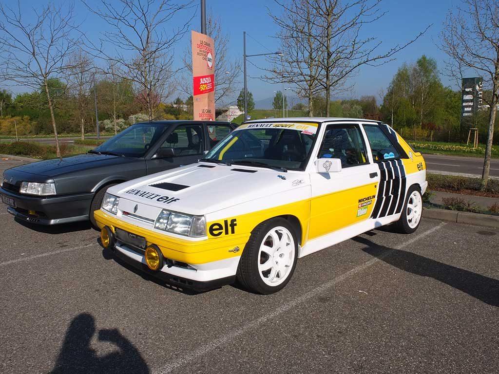 Rassemblement Mensuel Mulhouse Trident - Avril 2017 - Renault