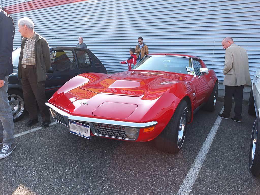 Rassemblement Mensuel Mulhouse Trident - Avril 2017 - Corvette Stingray