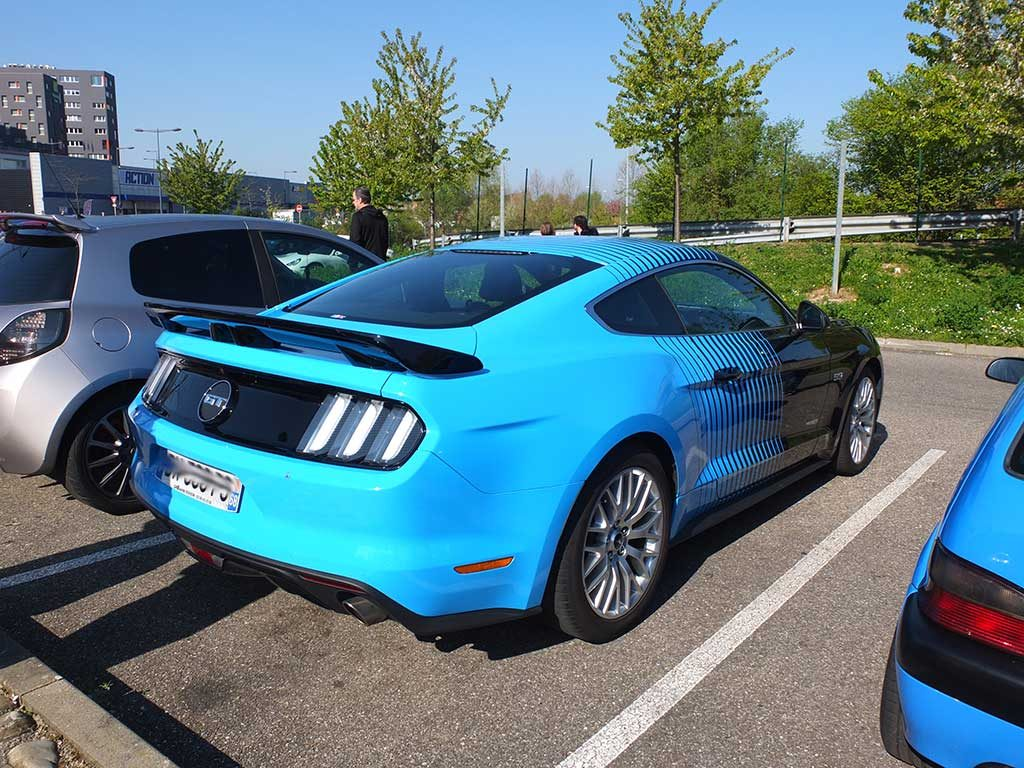 Rassemblement Mensuel Mulhouse Trident - Avril 2017 - Ford Mustang