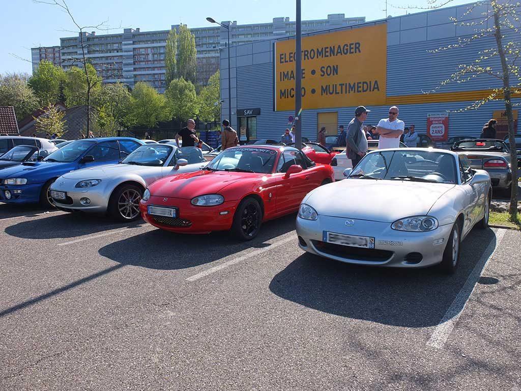 Rassemblement Mensuel Mulhouse Trident - Avril 2017 - Mazda MX-5