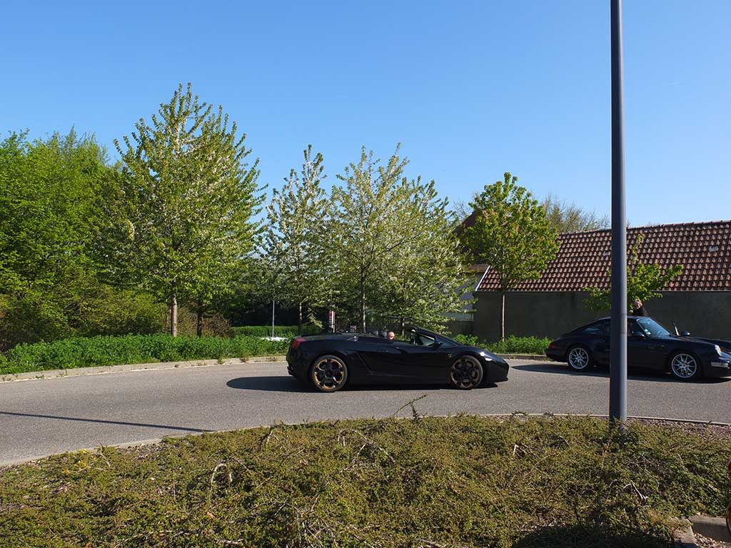 Rassemblement Mensuel Mulhouse Trident - Avril 2017 - Lamborghini Gallardo Spyder