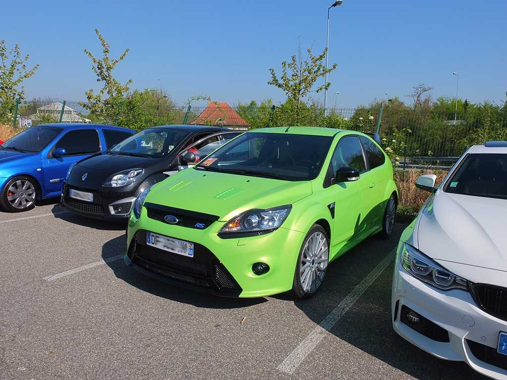 Rassemblement Mensuel Mulhouse Trident - Avril 2017 - Ford Focus RS