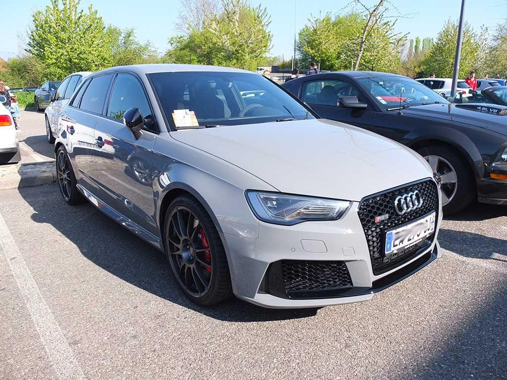Rassemblement Mensuel Mulhouse Trident - Avril 2017 - Audi RS3
