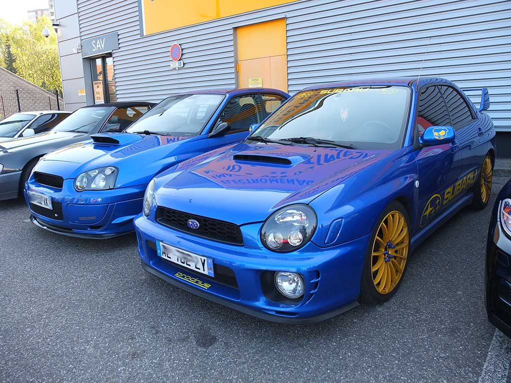 Rassemblement Mensuel Mulhouse Trident - Avril 2017 - Subaru