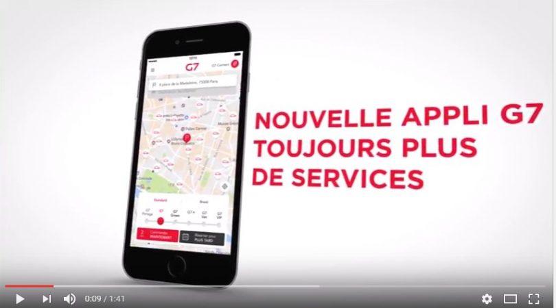 application taxi g7 pour blackberry