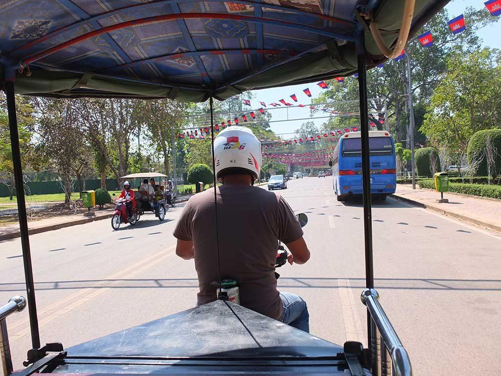 tuk tuk cambodge - siem reap