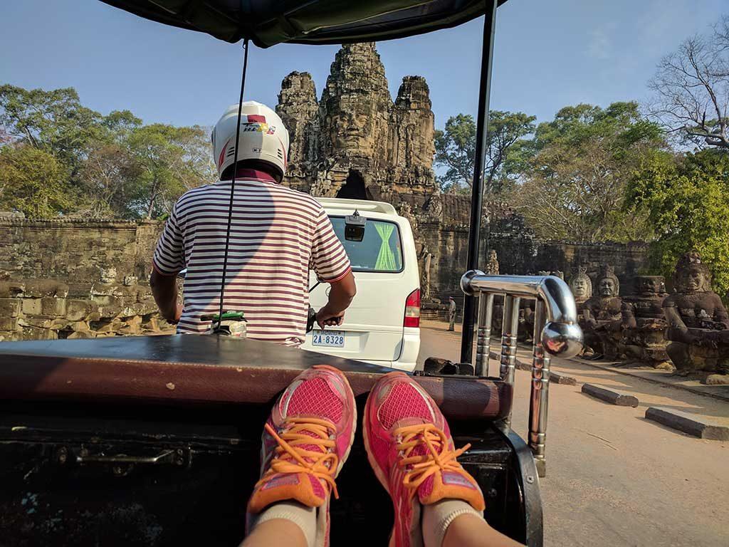 Tuk Tuk Angkor - Cambodge