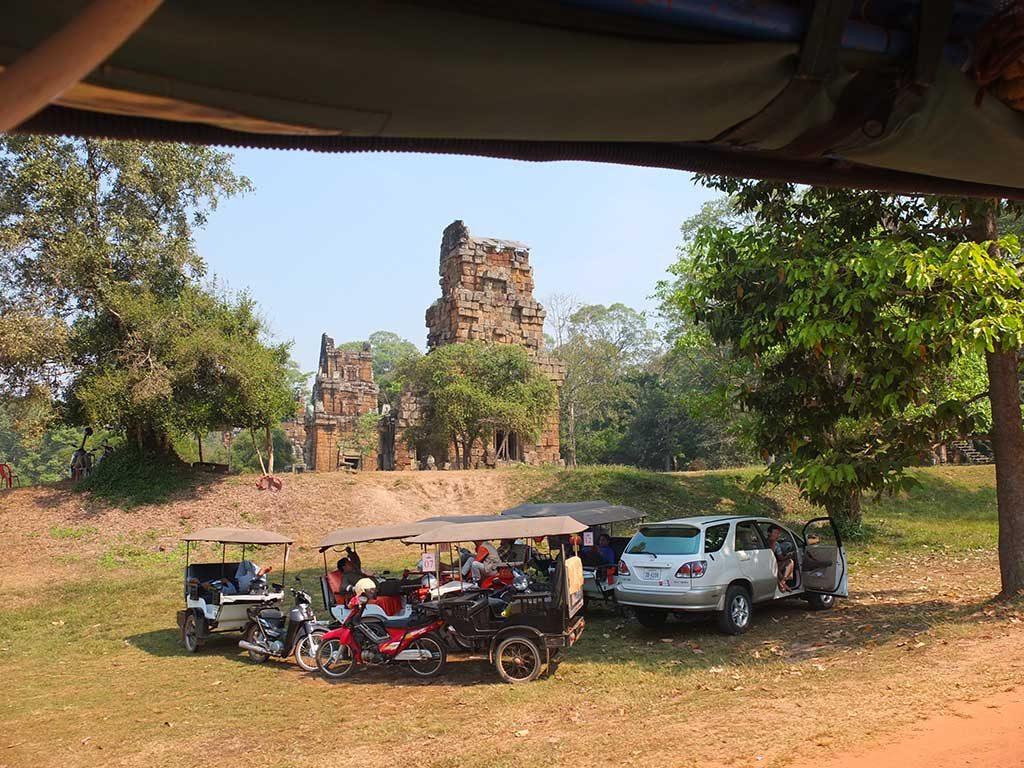 Temples d'Angkor en tuk-tuk