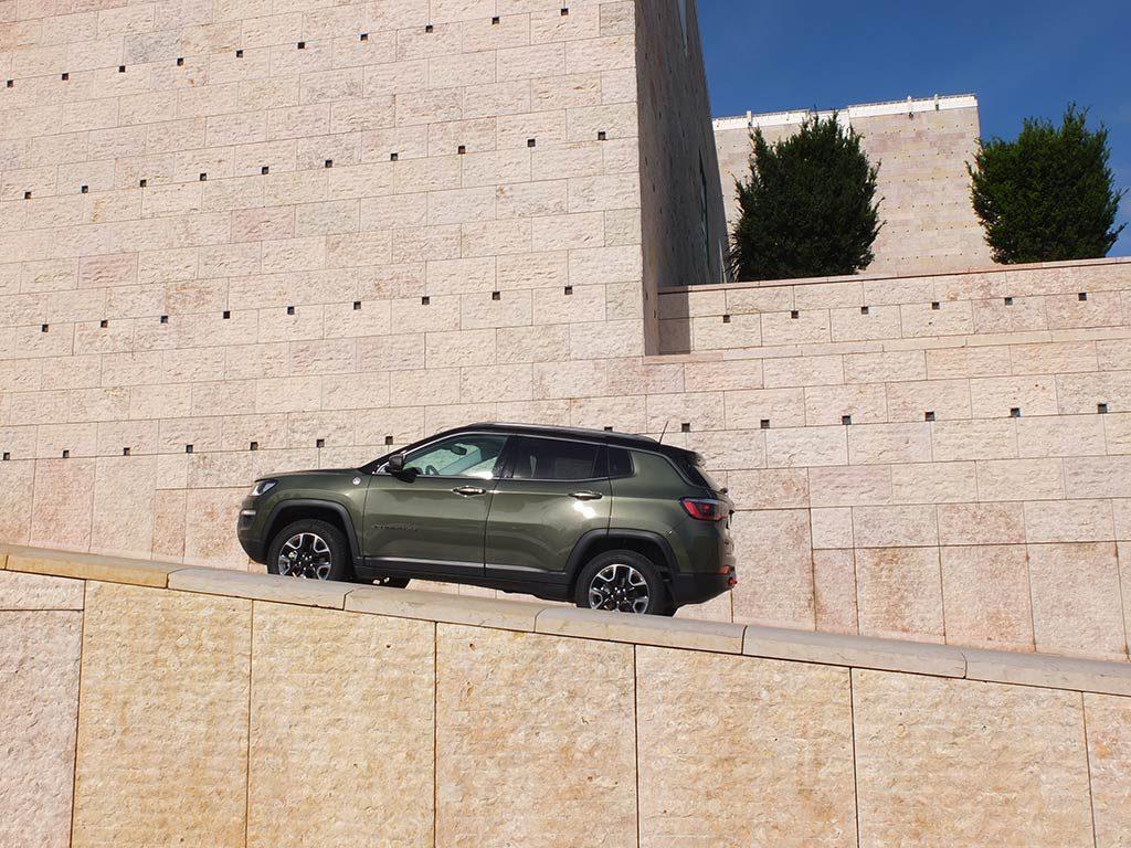 Jeep Compass Trailhawk - essai au Portugal