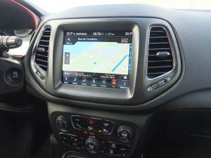 Jeep Compass Trailhawk - Intérieur - essai au Portugal