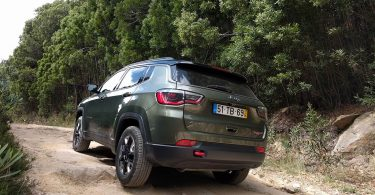 Jeep Compass Trailhawk - essai au Portugal